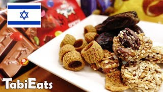 Japanese Trying Israel Snacks