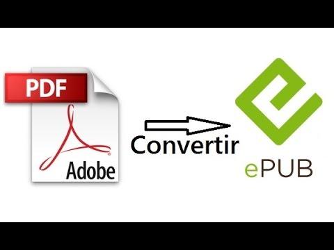 Convertir PDF en ePub (Convert PDF to ePub)