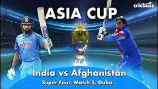 Muhammad Shahzad Batting Against India - Asia Cup 2018 | India vs afghanistan