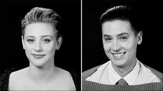 Cole Sprouse and Lili Reinhart Tell the Stories Of Their First Kisses | Screen Test | W Magazine