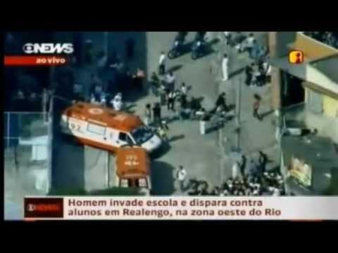 11 Killed in school,Rio de Janeiro-Brazil             (11 mortos em escola do Rio de Janeiro)