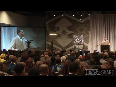 Highlights: Nation of Islam's Louis Farrakhan Addresses Trump