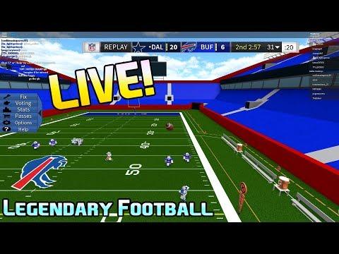 Roblox Youtube Legendary Football