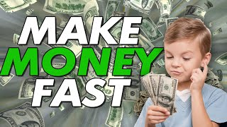 How to MAKE MONEY FAST as a Teenager without A Job *NOT CLICKBAIT* POSSIBLY MAKE THOUSANDS OF DOLLAR