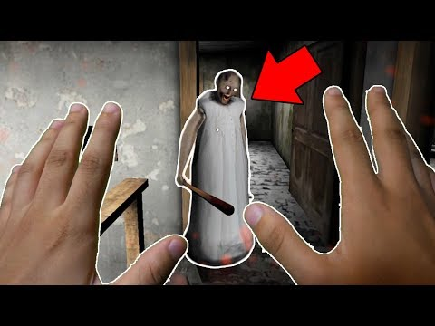 REALISTIC GRANNY HORROR GAME! (Granny in REAL LIFE)