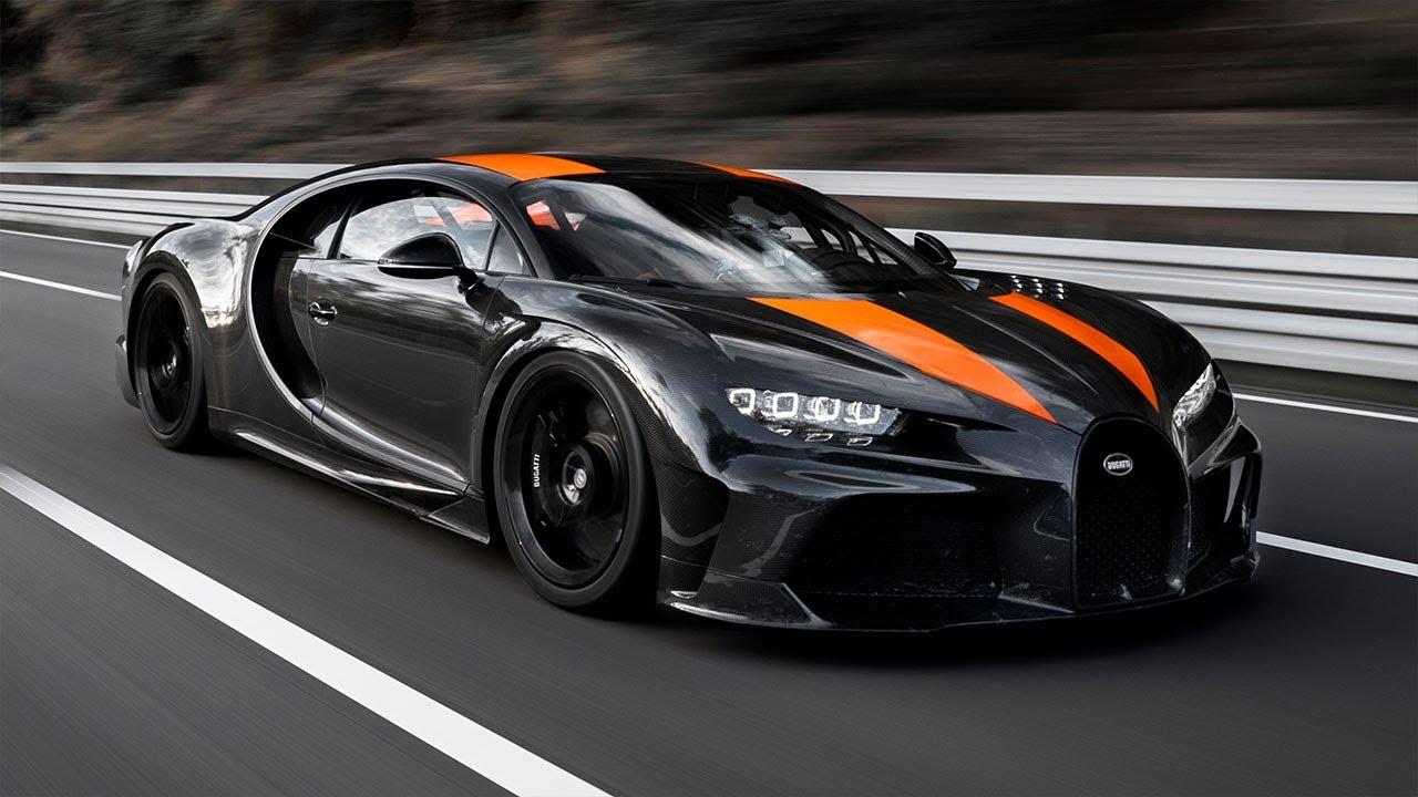 Bugatti hits 304.77mph in a Chiron | Top Gear