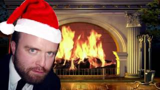 The Mathius Shuelin Christmas Yule Log (1 hour Long)
