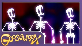 SPOOKY SCARY SKELETONS - Gooseworx Cover