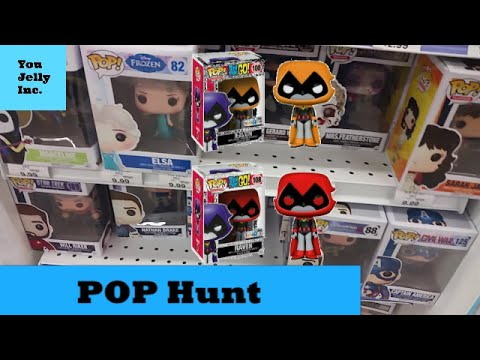 Funko Pop Hunt: Red & Orange RAVEN Toys R Us Teen Titans Go! NEW Exclusives! Hunting For GIDGET