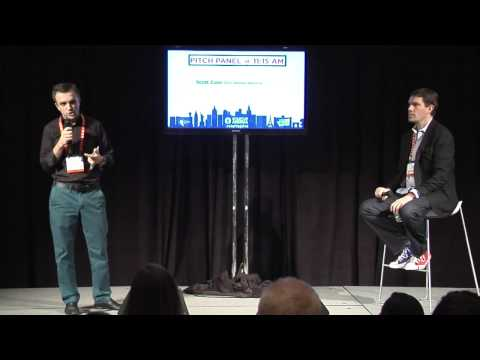 StartupLIVE pitch practice with Scott Case at CES