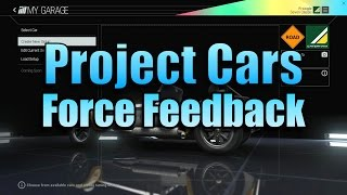 PROJECT CARS FORCE FEEDBACK