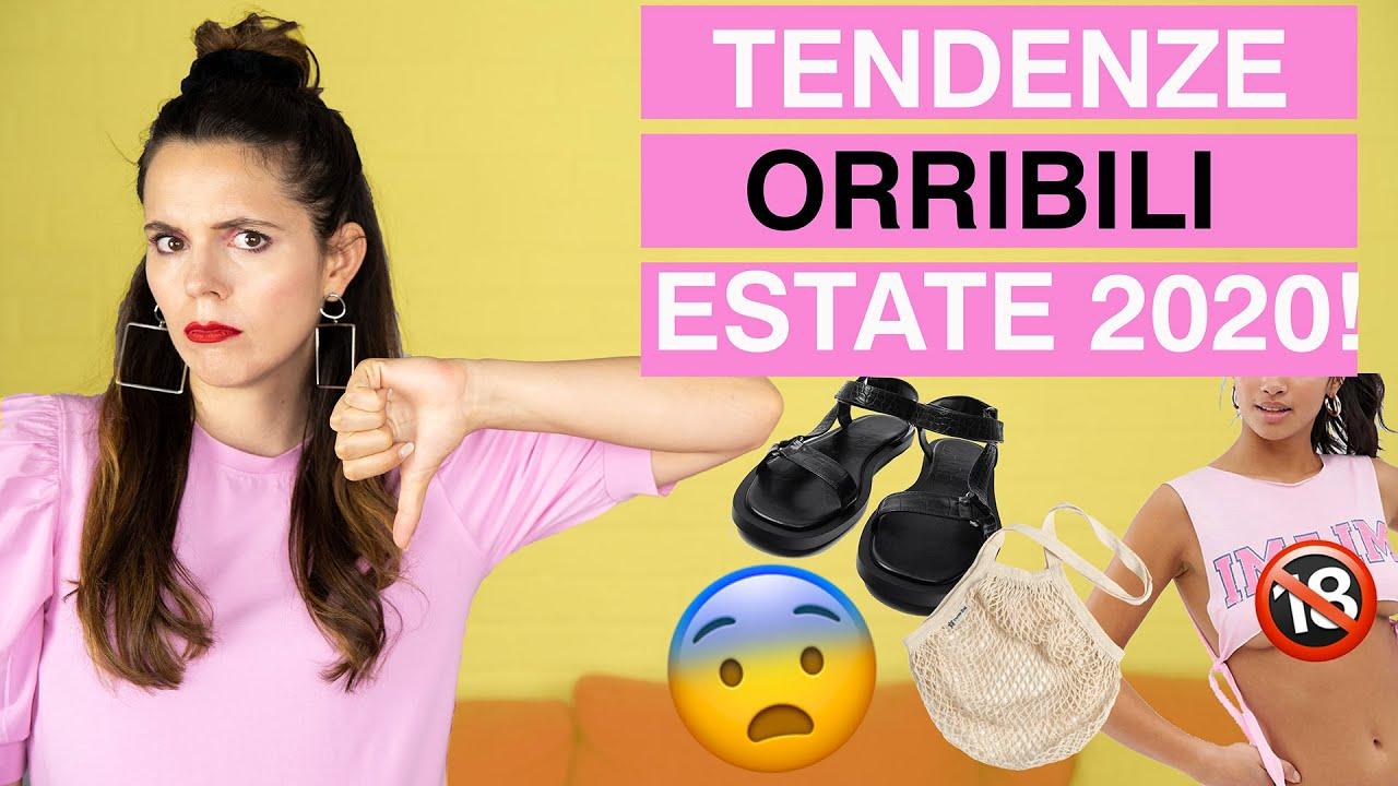 Tendenze estate 2020 ORRIBILI: 6 trend DAVVERO INGUARDABILI!