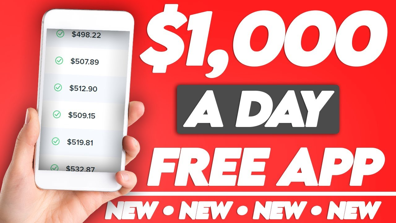 Earn $1,000/Day With This FREE App (NEW 💸 Make Money Online)