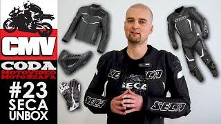 Unbox paczki z ciuchami testowymi od SECA - Moto Szafa #23 - CODA MV