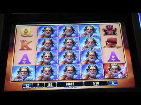 Video Zeus slot game free play