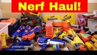 Car boot sale haul - Part 1 - Nerf Gun Mega Haul.....Plus our weekend away in Brighton