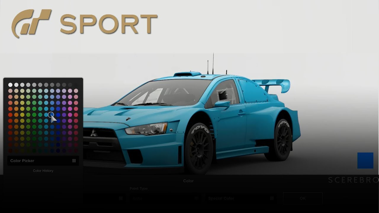 Gran Turismo Sport Car Editor Car Customization Beta Youtube
