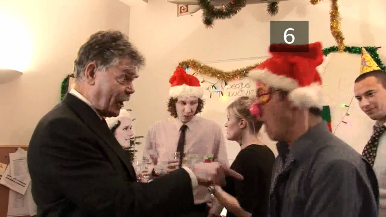 How To Behave At The Office Christmas Party - YouTube