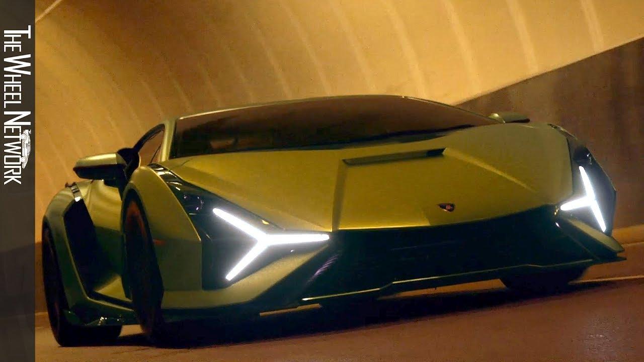 Lamborghini Sián FKP 37 Hybrid Hypercar