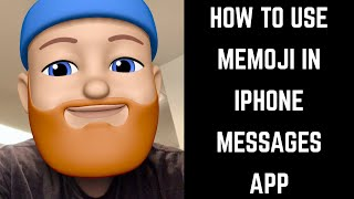 How to Use Memoji in iPhone Messages