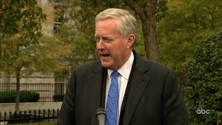 Mark Meadows' Conflicting COVID-19 Messaging, Part 1 | The View