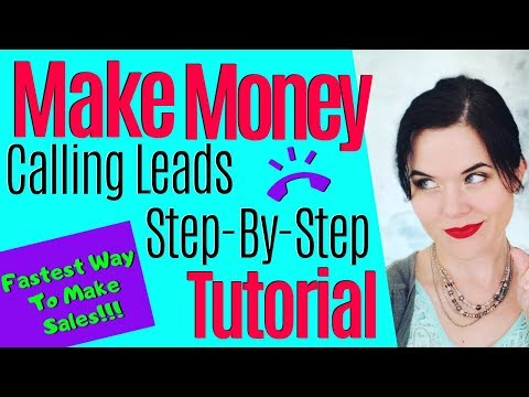 Affiate Marketing For Beginners | Step-by-Step Process For Calling & Closing Leads thumbnail