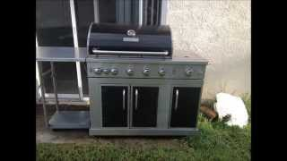 how to clean a stainless steel grill