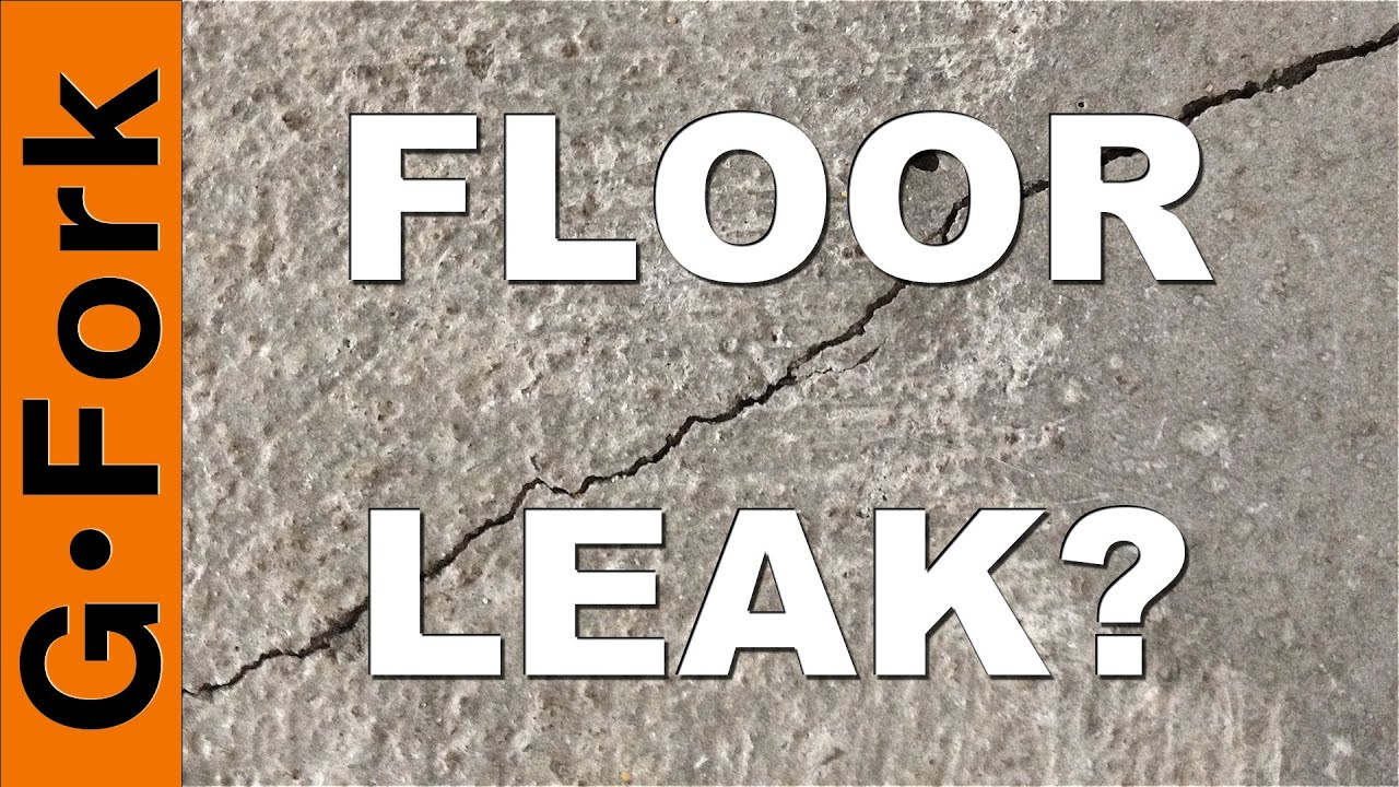 How To Repair Cracks And Leaks In Basement Walls And Floors - Basement floor repair
