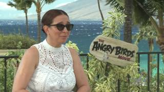 Maya Rudolph Interview The Angry Birds