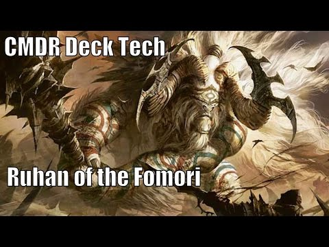 Sheldon Menery's Ruhan of the Fomori CMDR Deck [EDH / Commander / Magic the Gathering]