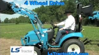 Farm Tractors by LS