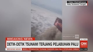 Download Video Detik-detik Tsunami Terjang Pelabuhan Palu MP3 3GP MP4