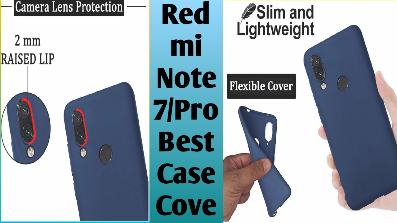 9a72e07ea Redmi note 7   7 Pro Best Cover only 99 me - YouTube