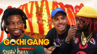 Anime Food Explained with Denzel Curry, Thundercat, and Zack Fox | Gochi Gang