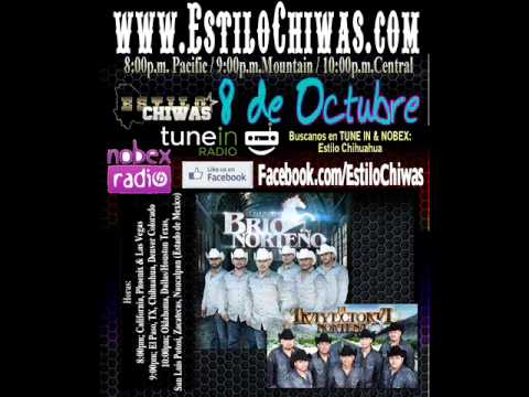 Conjunto Brio Norteno Y Trayectoria Nortena Invitacion a los bailes de Amarillo Tx  Y Santa Fe,NM