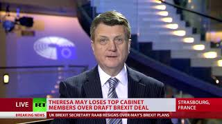 Gerard Batten talks to RT as a wave of resignations hits Parliament