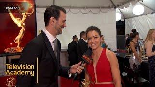Emmys 2016 | Backstage with Tatiana Maslany