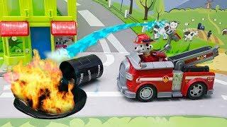 Мультики Игрушки Щенячий патруль у видео для детей - Спасение котенка! Новые мультфильмы развивающие
