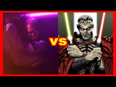Star Wars Versus Series: Mace Windu Vs. Darth Krayt