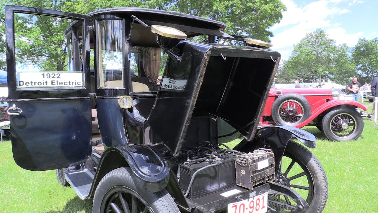 1922 Detroit Electric car at 2017 Greenwich Concours d'Elegance ...