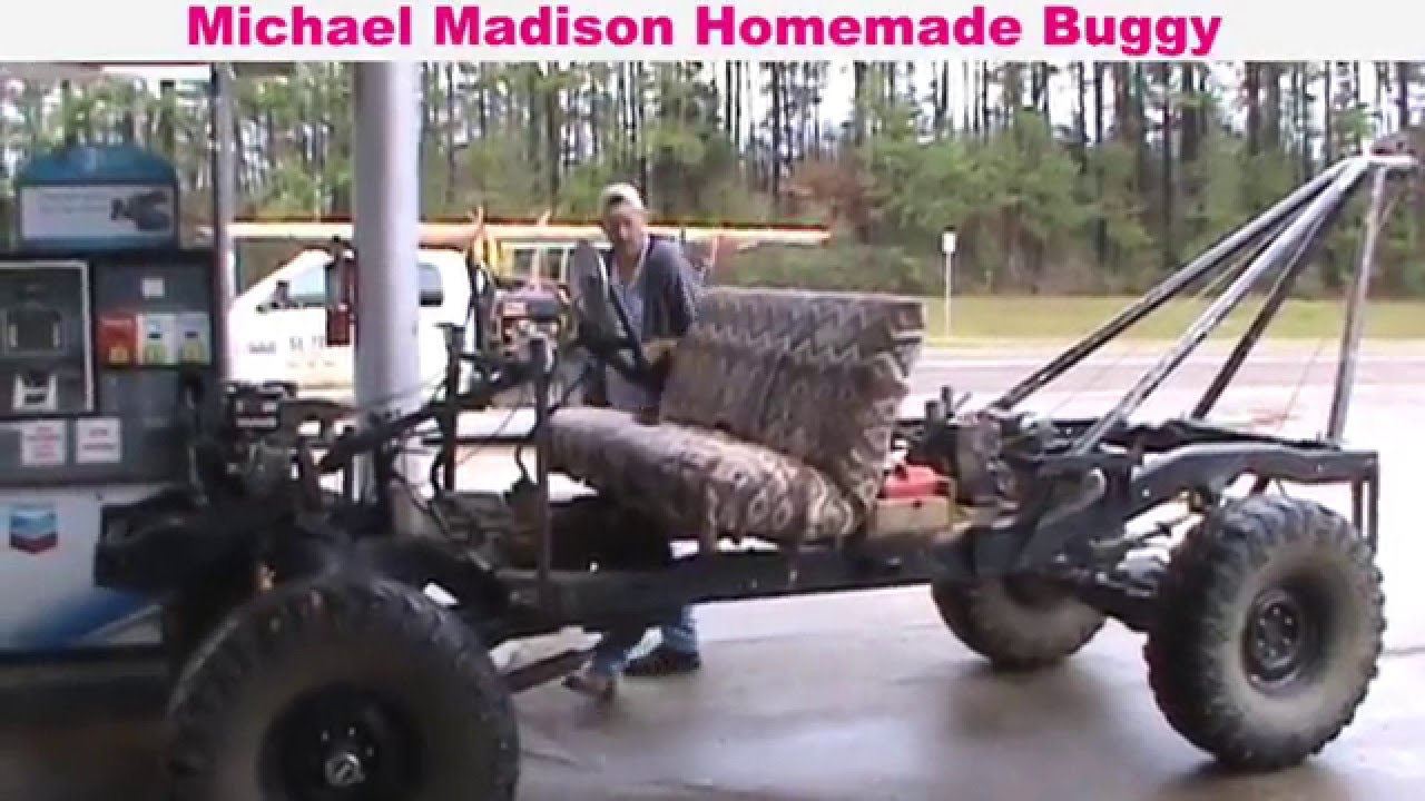 Homemade Buggy - built by Michael