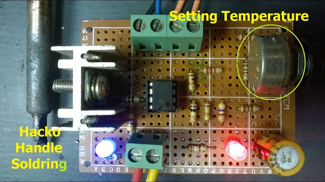 Diy Soldering Station on Hole Board - YouTube on printed circuit board schematics, electronics schematics, engineering schematics,