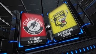 DEL2 Highlights 13. Spieltag | EC Bad Nauheim vs. EHC Bayreuth Tigers