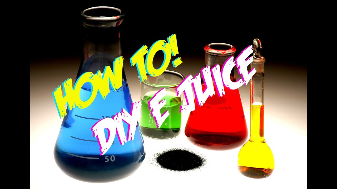 HOW TO: MAKING DIY E JUICE LIKE A BOSS!!!! - YouTube
