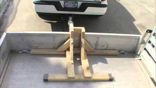 How to Build A Motorcycle Wheel Chock & Transport your Bike Securely