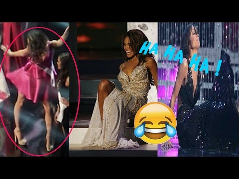 THE BIGGEST FALLS / MOMENTS FUNNY AT MISS UNIVERS !!! ( hilarious)