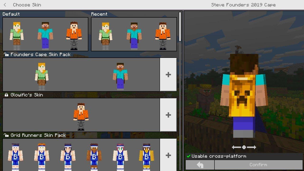 Minecraft: How To Get Minecon Founders CAPE Free! (Minecraft  PE/Xbox/Bedrock Cape)