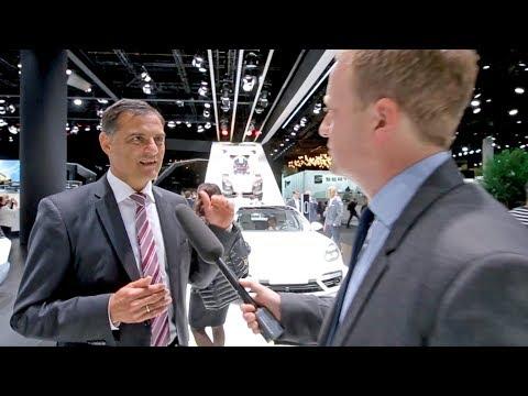 Dr. Michael Steiner über den Porsche Mission E – Interview auf der IAA 2017