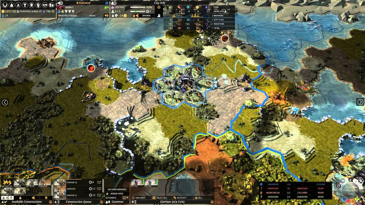 Endless Legend Gameplay Review - YouTube
