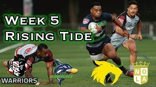 Major League Rugby Week 5 News and Notes:The Seawolves continue their ascent, NOLA Wins  The Hook 44